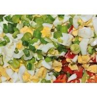 Bunter Eiersalat mit Gemüse