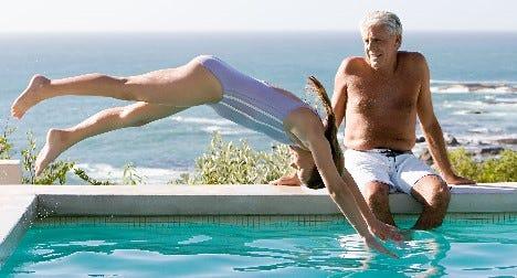 Insulinpumpe und schwimmen