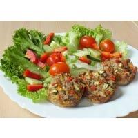 Gemüse–Thunfisch-Muffins