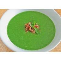 Cremesuppe vom Feldsalat