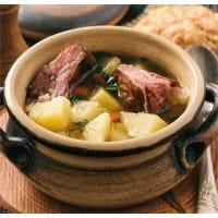 Kartoffelsuppe mit Kasseler