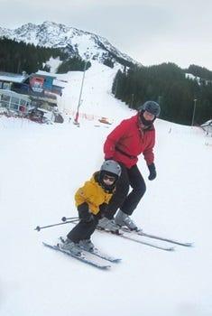 mit Diabetes Skifahren