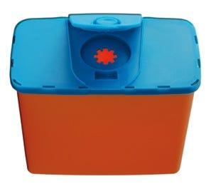 Entsorgungsbox für Pennadeln