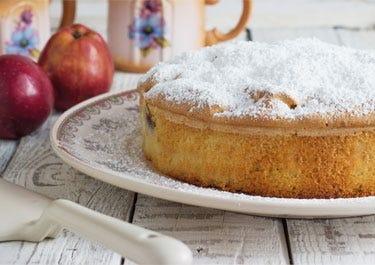 Apfel Quark Kuchen Rezept für Diabetiker