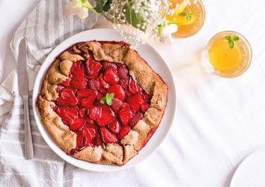 Erdbeer Galette zum selbst backen