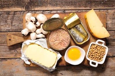 Übersicht Tabelle Vitamin D Lieferanten