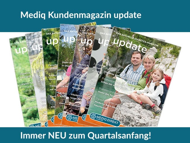 Kundenmagazin Mediq Diabetes zum Download