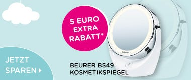 5 Euro Rabatt auf Beurer Kosmetikspielgel BS49