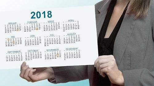 Veranstaltungskalender 2018