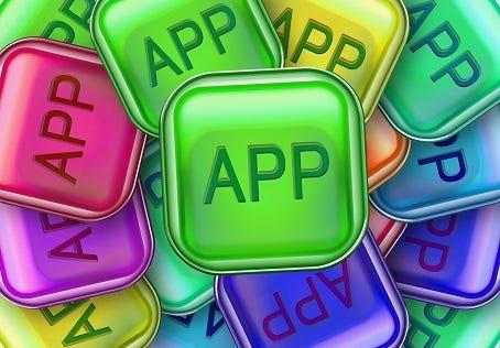 Symbolebild Apps