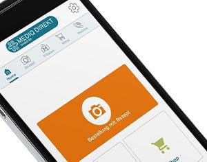 Die Mediq Rezept App