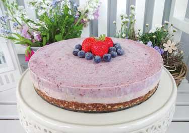 Beeren Cheesecake