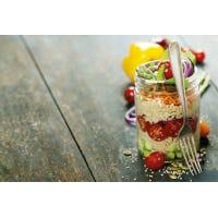 Hirse - Schichtsalat