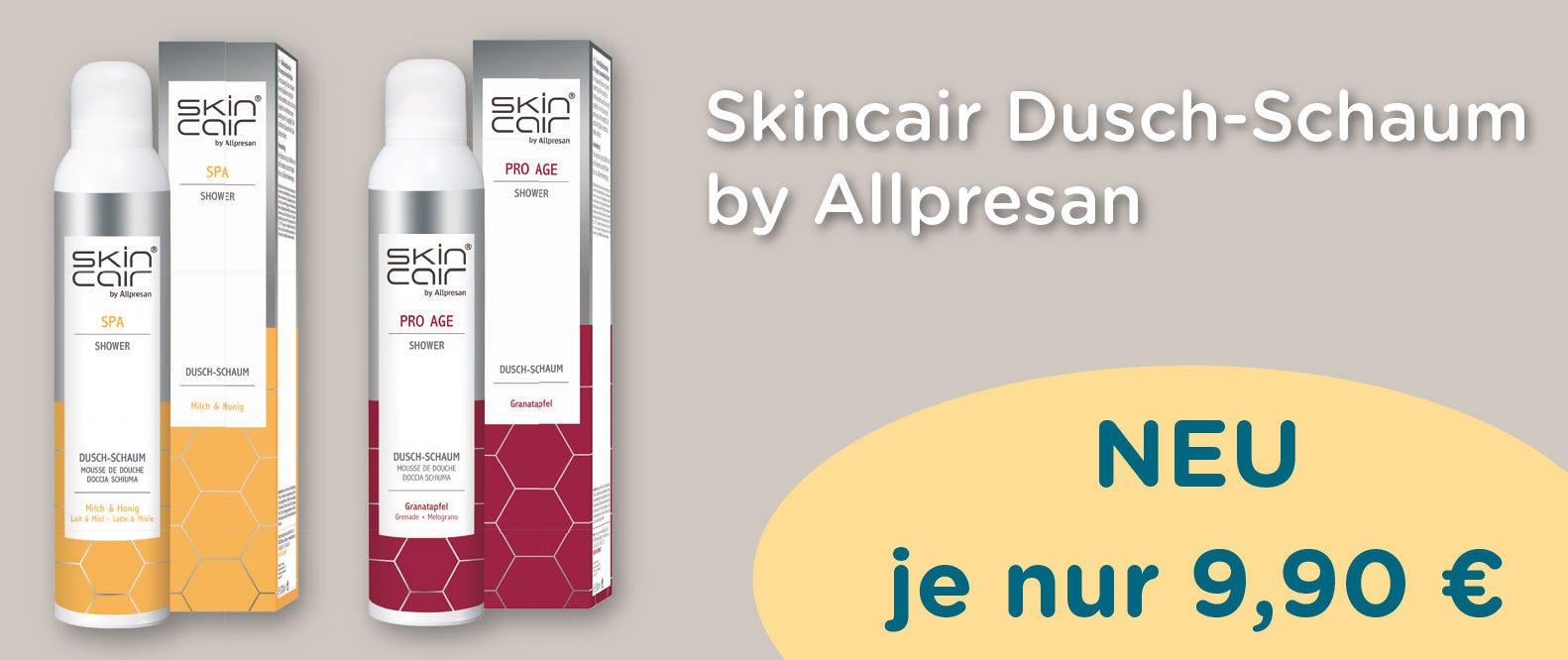 Skincair Body Dusche zum Sonderpreis