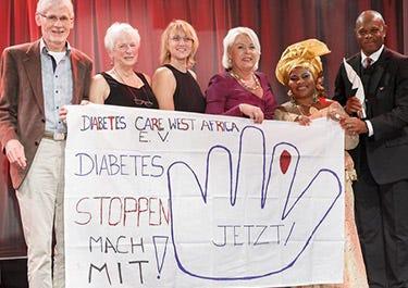 Diabetes Hilfe für West-Afrika